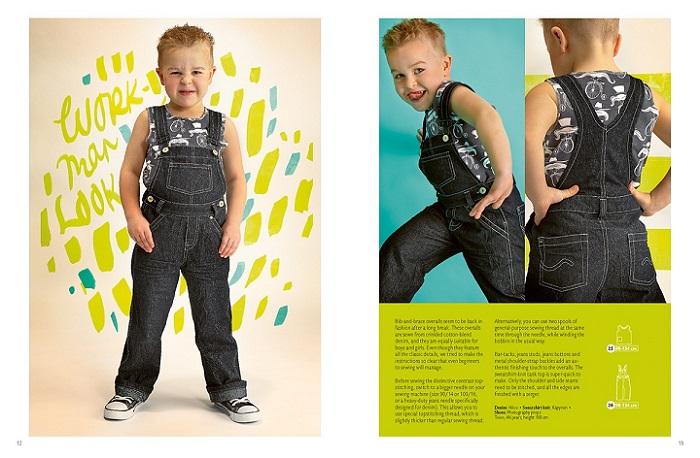 джинсовый комбинезон для мальчика оттобре фото