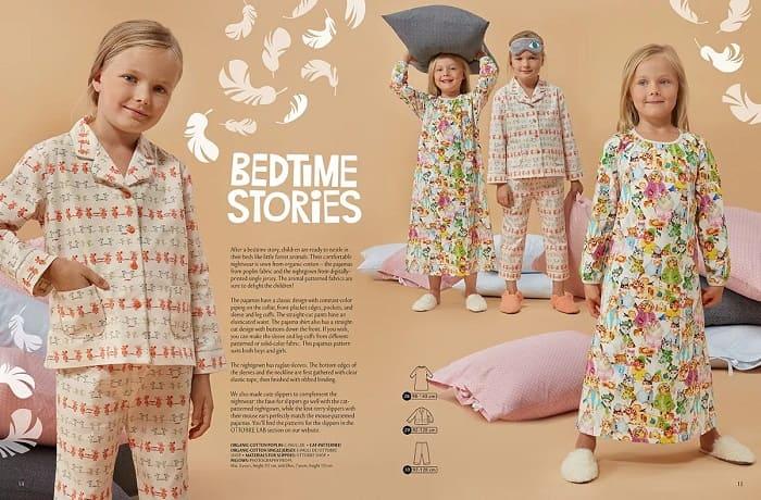 одежда для сна по выкройкам оттобре фото
