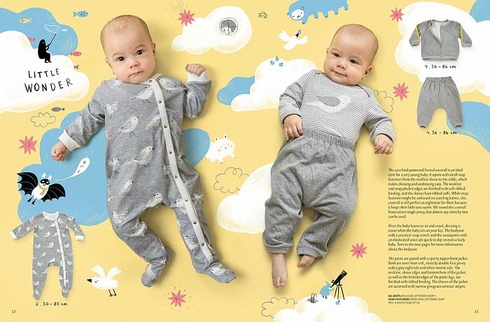 OTTOBRE design 1/2019 комбинезон для младенца фото