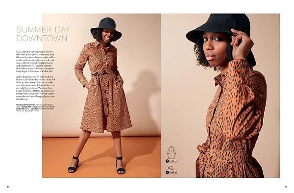 OTTOBRE design® Woman 2/2019 выкройка платье рубашки