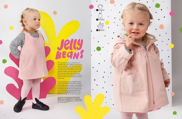 OTTOBRE design® Kids 1/2020 выкройка пальто для малышки