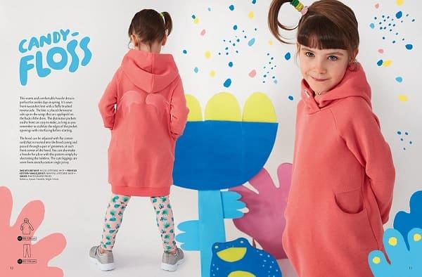 OTTOBRE design® Kids 1/2020 выкройка платья толстовки
