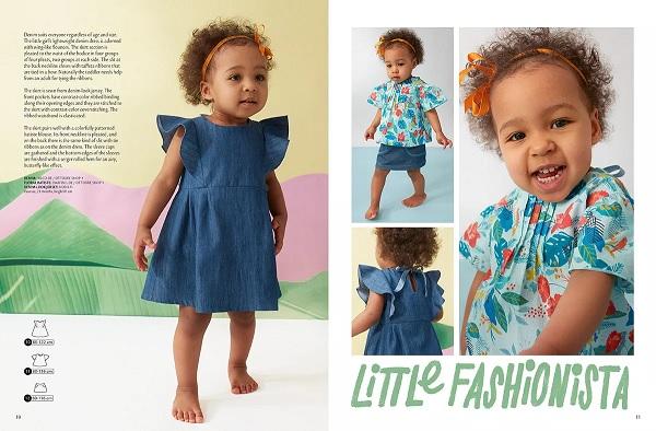 Платье с крылышками на двухлетнюю малышку выкройка
