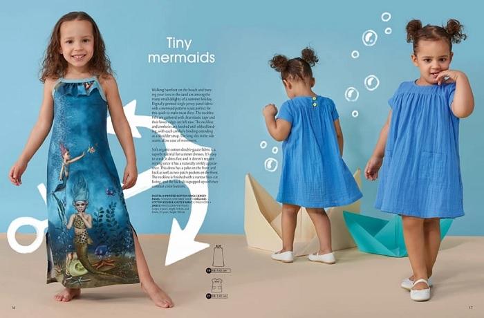 детское муслиновое платье